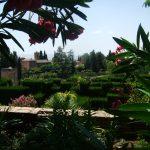 Garten in der Alhambra