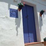 Blau und weiß in Frigiliana