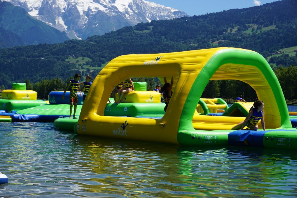 Aquapark für Kinder Mont Blanc
