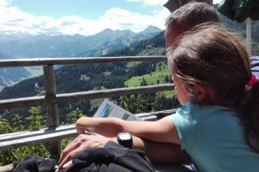 Wandern mit Kindern zur Viehausalm